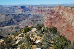 Bello paesaggio di Grand Canyon fotografia stock