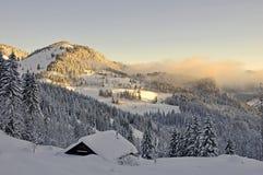 Bello paesaggio di inverno Fotografia Stock Libera da Diritti