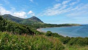 bello paesaggio di lingua gallese Fotografia Stock