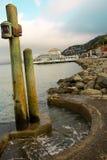 Bello paesaggio di Sausalito California Fotografie Stock