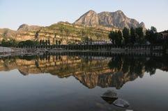 Bello paesaggio di Shidu, Pechino Fotografia Stock Libera da Diritti