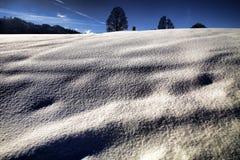 bello paesaggio di Snowy, Austria Fotografia Stock Libera da Diritti