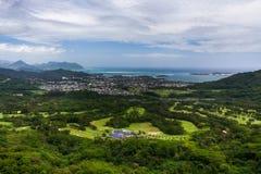 Bello paesaggio hawaiano Immagine Stock Libera da Diritti