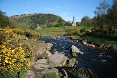 Bello paesaggio irlandese Fotografia Stock