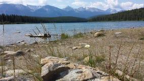 Bello paesaggio, lago patricia immagini stock