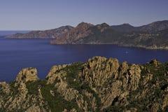 Bello paesaggio litoraneo Fotografie Stock