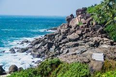 Bello paesaggio marino Immagini Stock Libere da Diritti