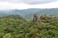Bello paesaggio a Masungi Georeserve, Rizal fotografia stock