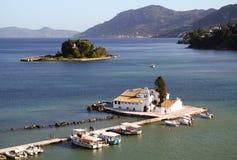 Bello paesaggio mediterraneo Immagini Stock