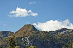 Bello paesaggio, montagne di Prealps dell'italiano Fotografie Stock Libere da Diritti