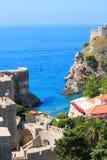 Bello paesaggio nei Balcani Immagine Stock