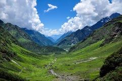 Bello paesaggio nel Tibet Fotografia Stock Libera da Diritti
