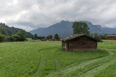 Bello paesaggio nelle alpi bavaresi Immagine Stock Libera da Diritti