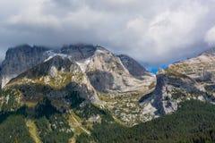Bello paesaggio nelle alpi italiane Fotografia Stock