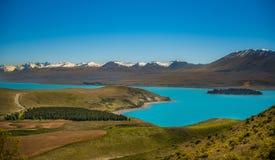 Bello paesaggio Nuova Zelanda. Immagini Stock Libere da Diritti