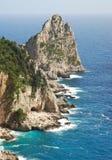 Bello paesaggio, rocce ed il mare Fotografia Stock Libera da Diritti