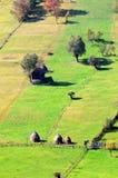 Bello paesaggio rumeno fotografie stock libere da diritti