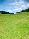 Bello paesaggio rurale francese Fotografia Stock