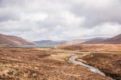 Bello paesaggio in Scozia Fotografia Stock