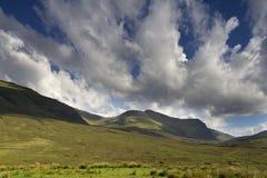 Bello paesaggio scozzese degli altopiani Fotografie Stock