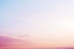 bello paesaggio - serenità e filtro colorato dal quarzo rosa fotografia stock libera da diritti