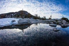 Bello paesaggio in sierra Nevada Mountains, California Fotografia Stock Libera da Diritti
