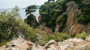 Bello paesaggio in Spagna Estate vacanza Fotografie Stock Libere da Diritti