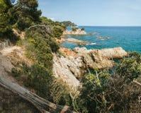 Bello paesaggio in Spagna Estate vacanza Immagini Stock