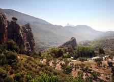 Bello paesaggio spagnolo immagine stock libera da diritti