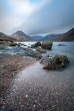 Bello paesaggio sparato a Wastwater nel distretto del lago, Regno Unito Fotografie Stock Libere da Diritti