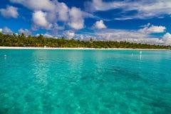 Bello paesaggio tropicale Fotografia Stock