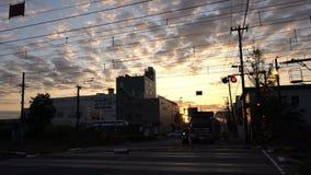 Bello paesaggio urbano intorno aKanagawa-KEN video d archivio