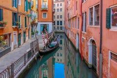 Bello paesaggio veneziano romantico fotografie stock