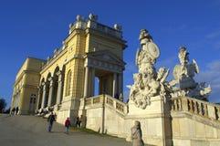 Bello palazzo Vienna, Austria Fotografia Stock Libera da Diritti