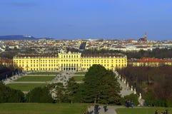 Bello panorama di Vienna Fotografia Stock