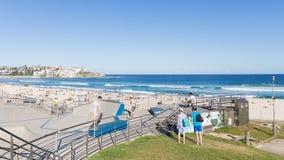 Bello parco del pattino sulla spiaggia Fotografie Stock Libere da Diritti