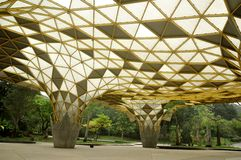 Bello parco di ricreazione nel giardino del lago di Kuala Lumpur Fotografie Stock
