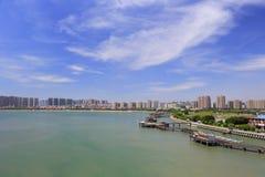 Bello parco wuyuan della baia della città amoy Immagini Stock Libere da Diritti