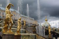 Bello Peterhof fotografia stock