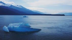 Bello pezzo del ghiaccio nell'Alaska fotografia stock