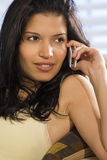 Bello Phonecall Immagine Stock Libera da Diritti