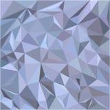 Bello poli fondo astratto basso di vettore nei colori grigio-blu illustrazione di stock