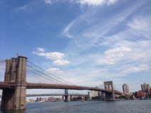 Bello ponte di Brooklyn Fotografia Stock