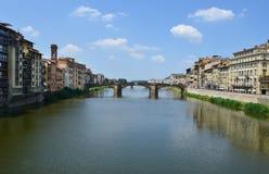 Bello ponte in Fiorence Fotografia Stock Libera da Diritti