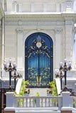 Bello portello al grande palazzo, Bangkok. Fotografia Stock