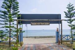 Bello porto Blair India della spiaggia del paesaggio Immagini Stock Libere da Diritti