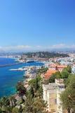 Bello porto o Nizza. Fotografia Stock Libera da Diritti