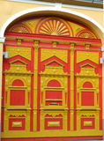 Bello portone rinnovato del centro della cittadella Fotografie Stock