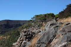Bello posto sull'isola di Spinalonga immagine stock libera da diritti