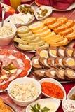 Bello pranzo decorato Immagine Stock Libera da Diritti